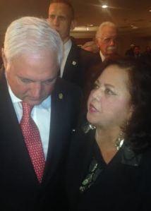 Elsa I. Pardo le habla al presidente de su Panamá, Ricardo Alberto Martinelli Berrocal actual Presidente de Panamá.