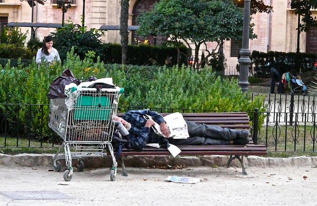Foto tomada en España: el país con mayor tasa de desigualdad social y económica de toda Europa, por Antonio Marín Segovia