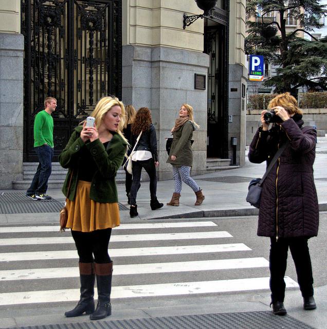 """""""COMPETENCIA"""" MADRID CALLE DUQUE DE MEDINACELI. Foto tomada por  Jose Javier Martin Espartosa el 24-1-2014"""
