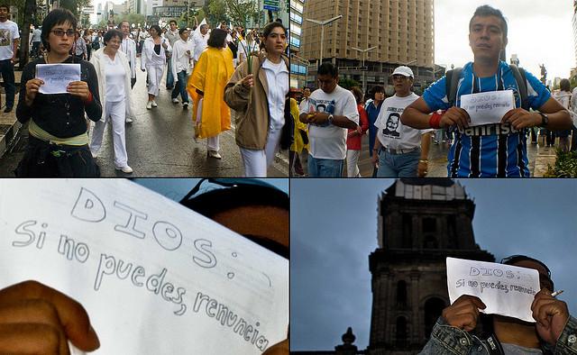 México: Exigencia desde el Agnosticismo. Foto: Eneas De Troya