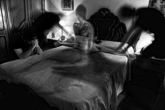 """""""Enfermedad & Muerte"""". Foto: Santiago P.A."""
