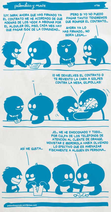 """""""Hablando se entiende la gente"""" Imagen: palomitasymaiz"""