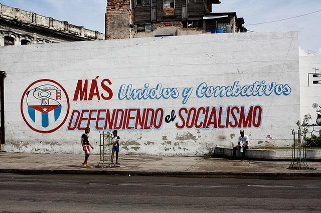 Mural cubano. Foto: marcel601