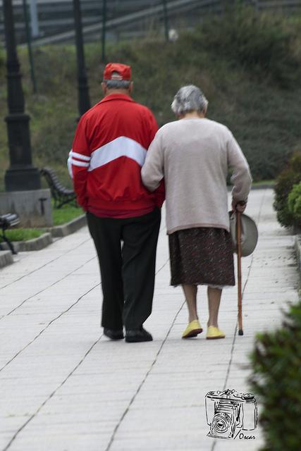 Ancianos. Foto: Caminado encontré.......