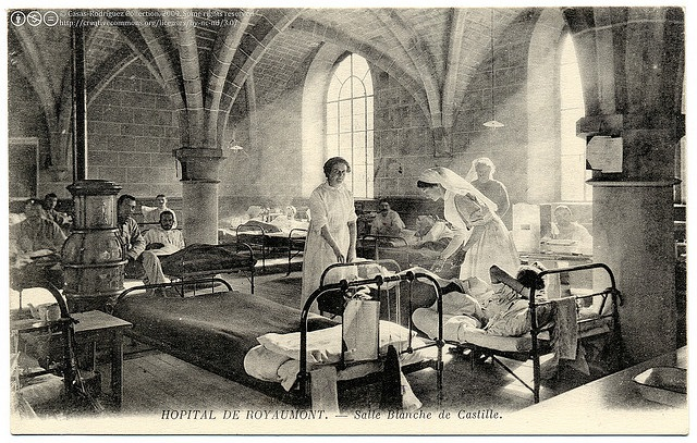 The Casas-Rodríguez Postcard Collection Healing at the Abbey (c.1915)